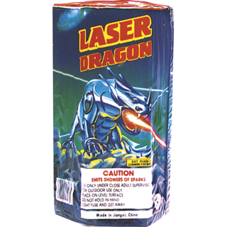 LASER DRAGON FOUNTAIN