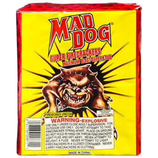 MAD DOG FIRECRACKERS 40/16