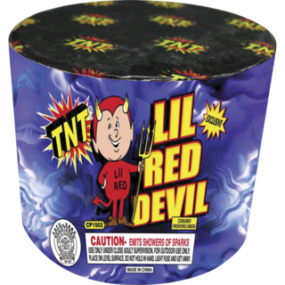 Firework Fountain L'il Red Devil