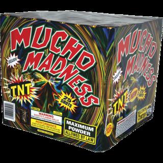 500 Gram Firework Aerial Finale Mucho Madness