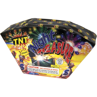 Firework Fountain Night Treasure