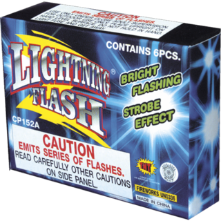 Firework Novelty Sparkler Lightning Flash