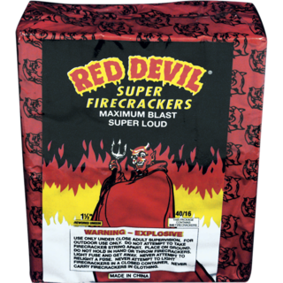 40/16 RED DEVIL FIRECRACKERS
