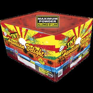 500 Gram Firework Aerial Finale Hawaiian Delight