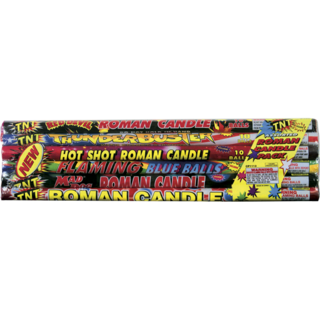 Firework Roman Candle Assorted 6 Pak Candles