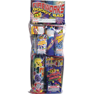 Firework Assortment Goody Polybag   Safe & Sane