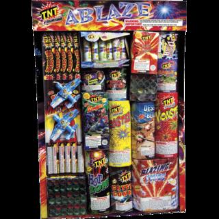 Firework Assortment Ablaze Tray