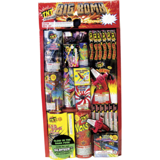 Firework Assortment Big Bomb Tray
