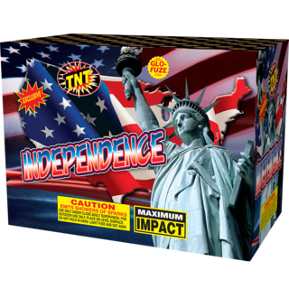 500 Gram Firework Fountain Independence