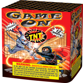 Firework Aerial Finale Game On