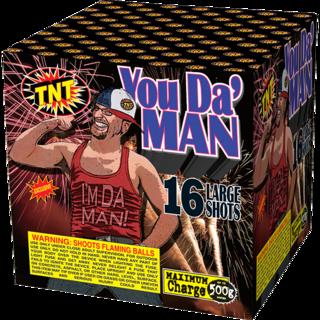 500 Gram Firework Aerial Finale You Da Man