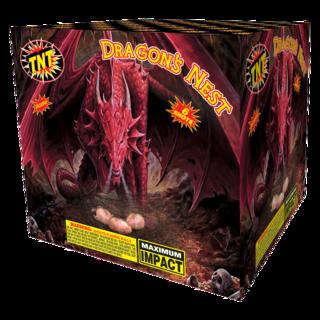 500 Gram Firework Aerial Finale Dragon's Nest
