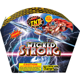 500 Gram Firework Fountain Wicked Strong