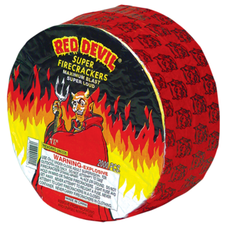 RED DEVIL FIRECRACKERS 2000