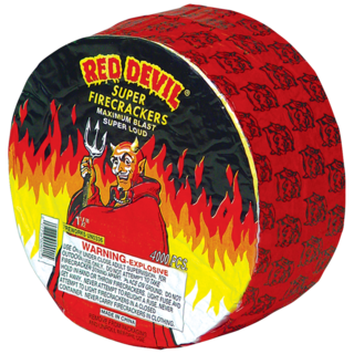 Firework Supercenter Red Devil Firecrackers 4000