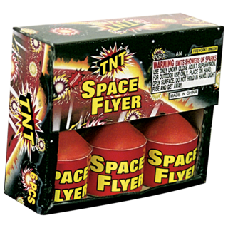 Firework Supercenter Tnt Space Flyer