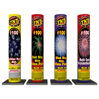 Firework Reloadable #100 Assorted