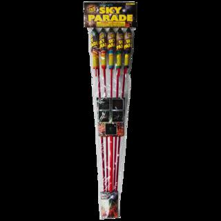 Firework Rocket Missile Sky Parade