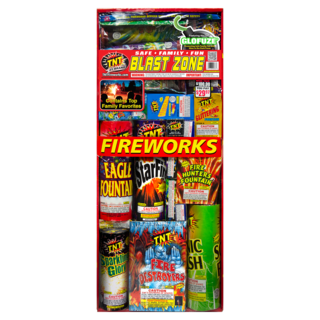 Firework Assortment Blast Zone